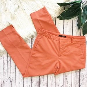 Zara Woman coral Ankle trousers size Large